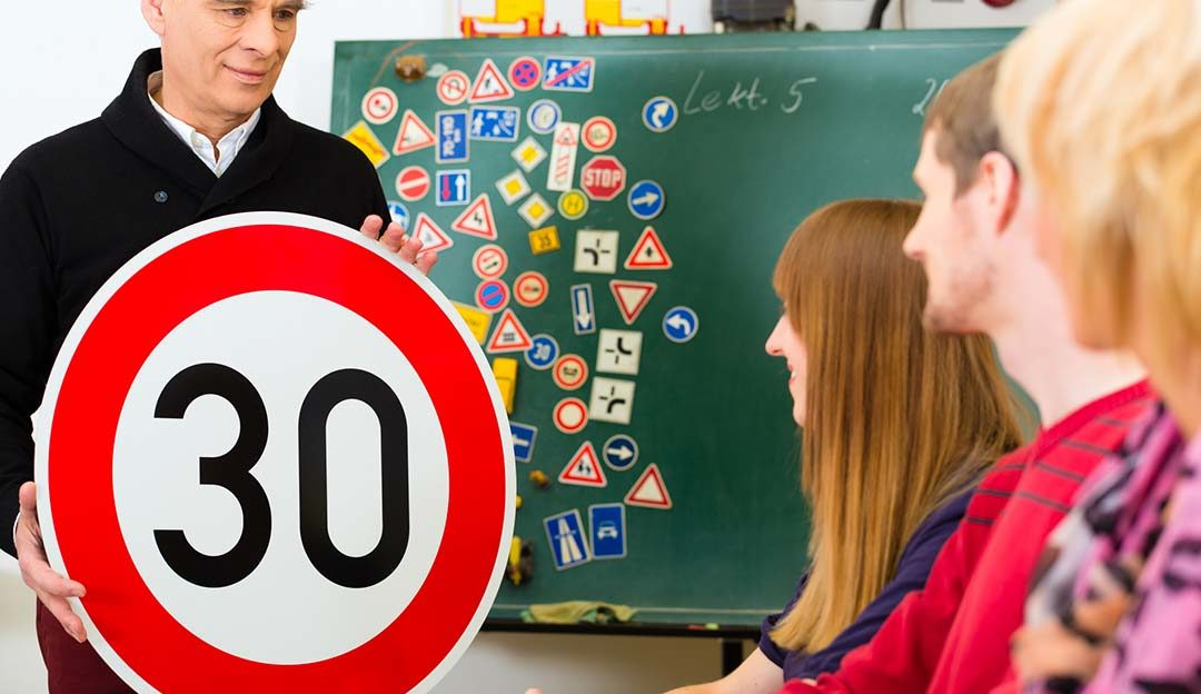 Neue Tempo 30-Zone auf der Bahnhofstraße